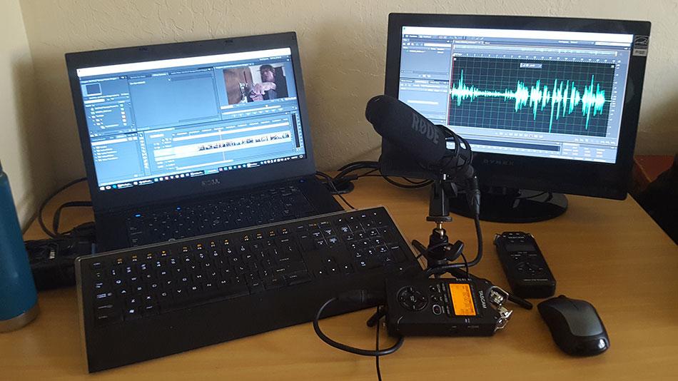 Multimedia Storytelling Post Production